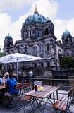 Deutscher Dom który jest Protestanckim katedrą w Berlińskim Niemcy Zdjęcia Royalty Free