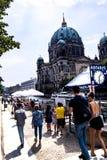 Deutscher Dom który jest Protestanckim katedrą w Berlińskim Niemcy Obrazy Stock