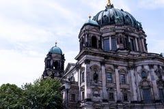 Deutscher Dom który jest Protestanckim katedrą w Berlińskim Niemcy Zdjęcia Stock