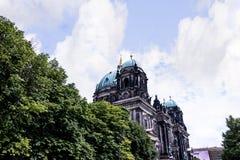 Deutscher Dom który jest Protestanckim katedrą w Berlińskim Niemcy Obraz Stock