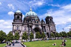 Deutscher Dom który jest Protestanckim katedrą w Berlińskim Niemcy Obraz Royalty Free