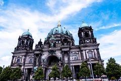 Deutscher Dom który jest Protestanckim katedrą w Berlińskim Niemcy Obrazy Royalty Free