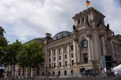 Deutscher el Parlamento alemán fotografía de archivo libre de regalías