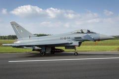 Deutscher Eurofighter Stockfotografie