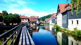 Deutscher Fluss Stockfoto