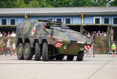 Deutscher gepanzerter Sanitätswagen, Boxer Stockfotografie