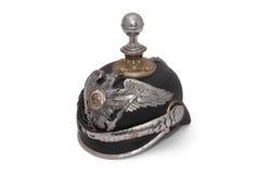 Deutscher Helm des 19. Jahrhunderts Lizenzfreies Stockbild