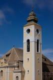 Deutscher Kolonialkirchen-Kirchturm Stockbilder
