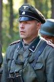 Deutscher Offizier Stockbild