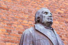 Deutscher Reformer Martin Luther lizenzfreies stockbild