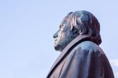 Deutscher Reformer Martin Luther stockfotos