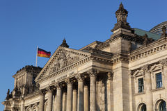 Deutscher Reichstag Royalty Free Stock Photo