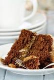 Deutscher Schokoladen-Kuchen Lizenzfreie Stockbilder