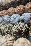 Deutscher Schokoladennachtisch rief Snowball an Stockfotos