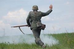 Deutscher Soldat Stockfotografie