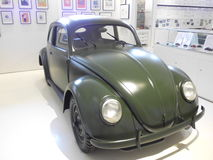 Deutscher Weinlese VW-Käfer stockbild