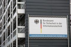 Deutsches Büro für Sicherheit in der Informationstechnologie Lizenzfreie Stockfotografie