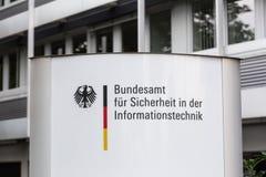 Deutsches Büro für Sicherheit in der Informationstechnologie Stockbilder