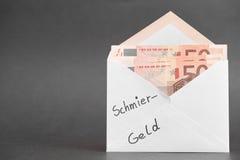Deutsches Bestechungsgeld Lizenzfreie Stockfotografie