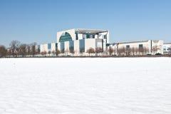 Deutsches BundesKanzleramt in Berlin Lizenzfreies Stockfoto