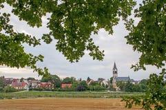 Deutsches Dorf Stockfoto
