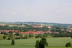 Deutsches Dorf Lizenzfreie Stockfotografie