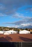 Deutsches Flüchtlingslager Lizenzfreie Stockfotos