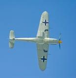 Deutsches Flugzeug mit Markierungen. Lizenzfreies Stockbild
