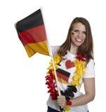 Deutsches Fußball-Gebläse Lizenzfreie Stockfotos