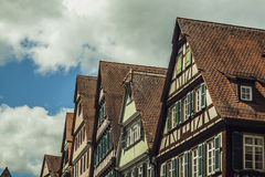 Deutsches Haus Stockfotos