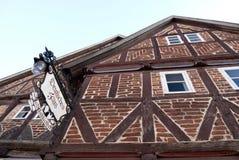 Deutsches Haus in Rehna Stock Image