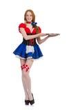 Deutsches Mädchen Stockbild