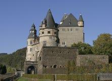 Deutsches mittelalterliches Schloss Stockfotos