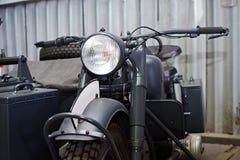 Deutsches Motorrad BMW R 75 1941 Stockfotografie