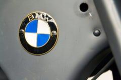 Deutsches Motorrad BMW R11 von Jahr 1932 Lizenzfreies Stockfoto