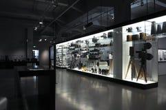 Deutsches Museum, Photocamera Bildschirmanzeige stockfotografie
