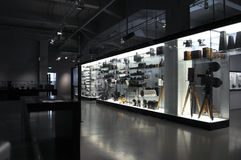 Deutsches Museum, Photocamera Display. This photograph represent the Photocamera Display from Deutsches Museum in Munich, Germany Stock Photography