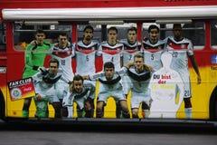 Deutsches nationales Fußballteam Stockbild