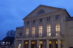 Deutsches Nationaltheater. Weimar, Thuringia, Germany Stock Photography