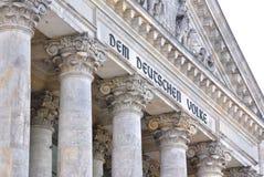 Deutsches Parlament Lizenzfreie Stockfotos