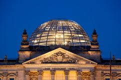 Deutsches Parlament Berlin Stockfoto