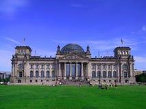 Deutsches Parlaments-Gebäude Stockfotos