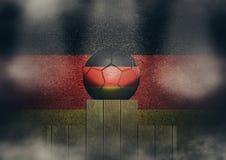 Deutsches Podium Lizenzfreies Stockfoto