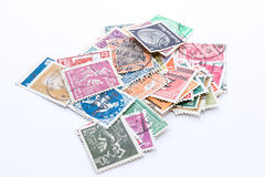 Deutsches Reich Stamps Stock Photos