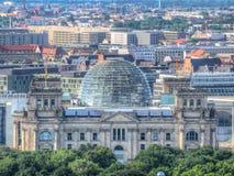 Deutsches Reichstag in Berlin Stockfotografie