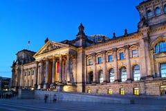 Deutsches Reichstag (Kongreß) Stockfotografie