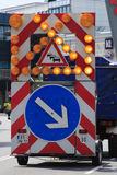 Deutsches Straßenschild Lizenzfreie Stockbilder