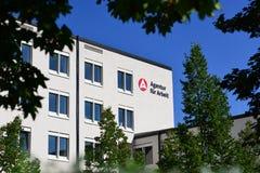 Deutsches uneployment Büro Lizenzfreie Stockbilder