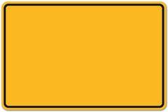 Deutsches Verkehrsschild Stockfoto