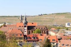 Deutschhauskirche in Wurzburg, Bavaria, Germany Royalty Free Stock Photo